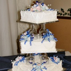 3 Tier Wedding Cake