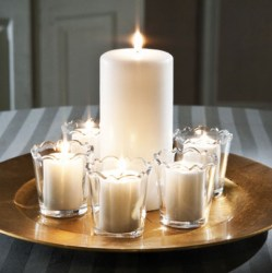 Potpouri Candles in Containers