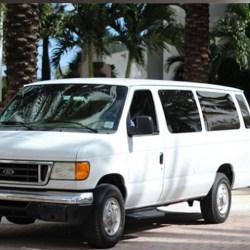 Airport Shuttle Van