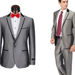 Mens Grey Suit