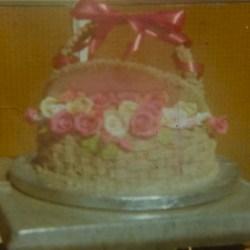 Birthday Basket Cake